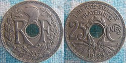 25 Centimes 1928