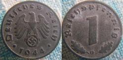 1 reichspfennig 1944 G