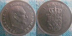 1 Krone 1967
