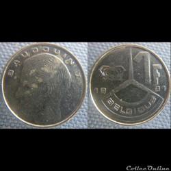 1 Franc 1991 fr