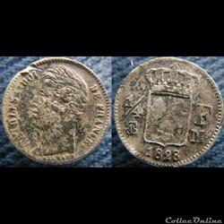 Quart de Franc 1828 M