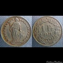1 Franc 1971