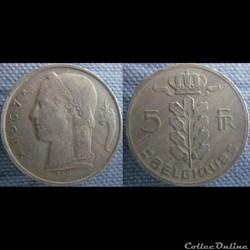 5 Francs 1967 fr