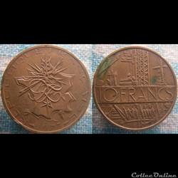 10 Francs 1977 Tranche A
