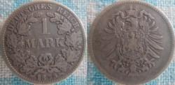 1 mark 1875 D