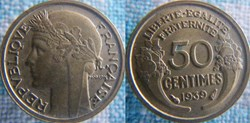 50 centimes 1939