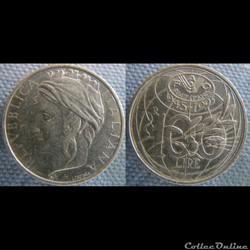 100 lire 1995 FAO