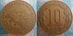 10 Francs 1978