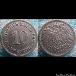 10 pfennig 1907 A