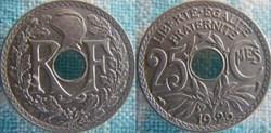25 Centimes 1925