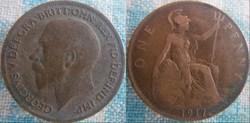 1 Penny 1917