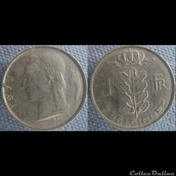 1 Franc 1978 fr