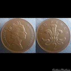 2 Pence 1997