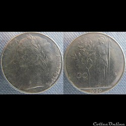 100 Lire 1989