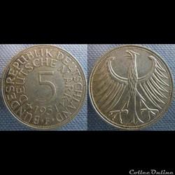 5 mark 1951 F