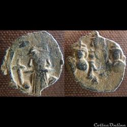 Constans II, Constantin IV, Héraclius et Tibère - Follis