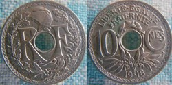 10 Centimes 1918