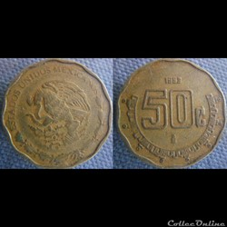 50 Centavos 1993