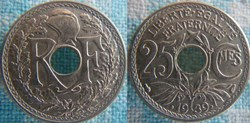 25 Centimes 1939