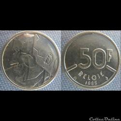 50 Francs 1989 fl