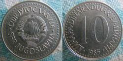 10 Dinara 1985