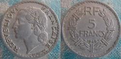 5 Francs 1946 C