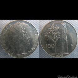100 Lire 1975