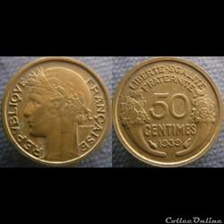 50 centimes 1939