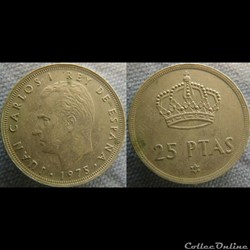25 Pesetas 1975 (80)