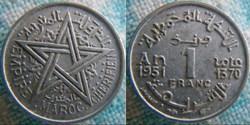 1 Franc 1951