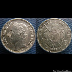 1 Franc 1868 BB