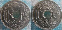 10 Centimes 1939 maillechort