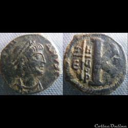 Justinien demi-follis Antioche