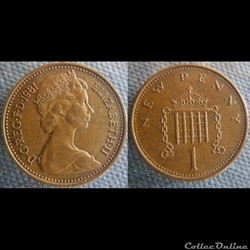 1 New Penny 1981