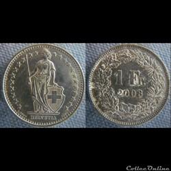 1 Franc 2008 B