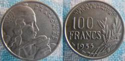 100 Francs 1955 Ruban large