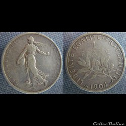 1 Franc 1904