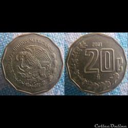 20 Centanvos 2001