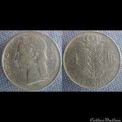 1 Franc 1974 fr