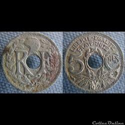 5 Centimes 1924