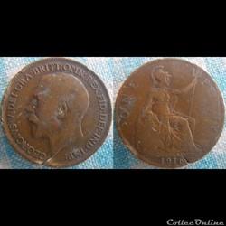 1 Penny 1916