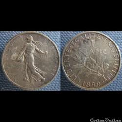 1 Franc 1899