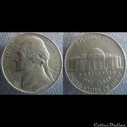 5 Cents 1989 D