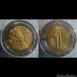 1 peso 2010