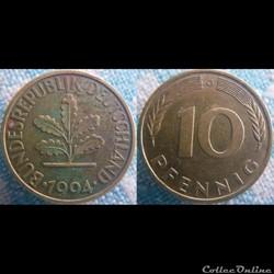 10 Pfennig 1994 G