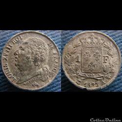 1 Franc 1823 A