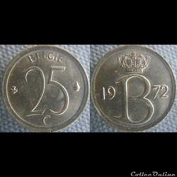 25 Centimes 1972 FL