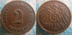 2 pfennig 1914 A