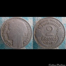 2 Francs 1949 B