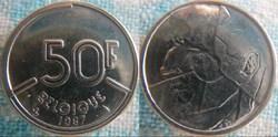 50 Francs 1987 fr